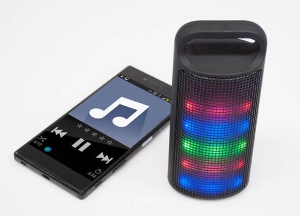 Bluetooth-Box Light & Sound